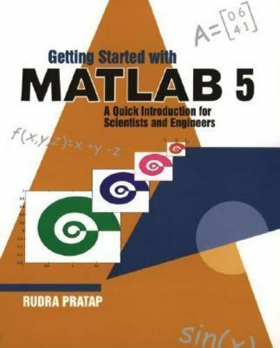 Matlab tutorial pdf by rudra pratap | Getting Started with