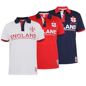 D555-DUKE-MENS-ENGLAND-FOOTBALL-POLO-SHIRT-RED-NAVY-WHITE-S-M-L-XL-XXL-164784