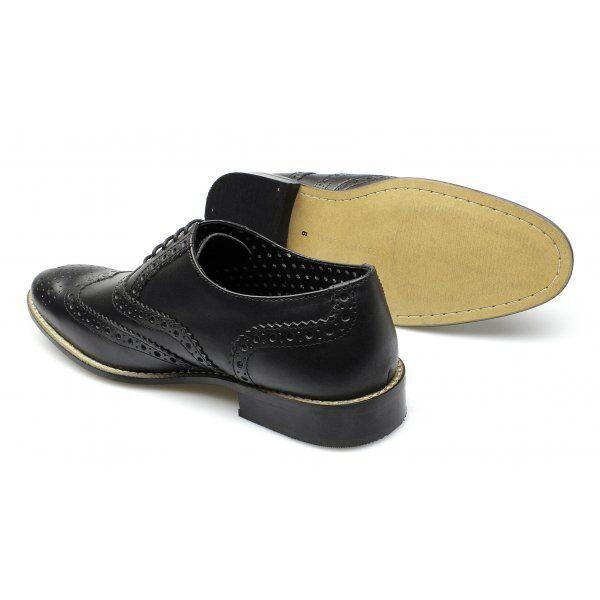Elvis Tanzschuhe Budapester Schuhe Leder Spectator Shoes 50er Rockabilly 2-Tone