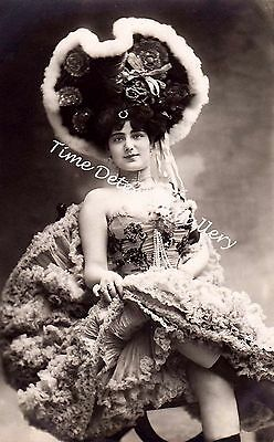 Carment de Villers, Edwardian Actress - Historic Photo Print