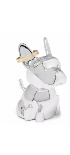 Chrome Umbra Zoola Frenchie Ring Holder