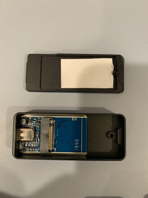 Sabrent NANO 2242 NVMe USB Type-C Metal Enclosure Many Colors - (No SSD inside)