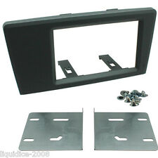 CT23VL05 VOLVO V70 2000 - 2007 DOUBLE DIN FASCIA FACIA ADAPTOR PANEL KIT