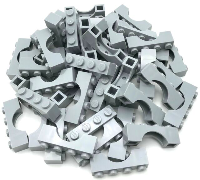 Lego 100 New White Bricks Arches 1 x 4 Castle Pieces Parts