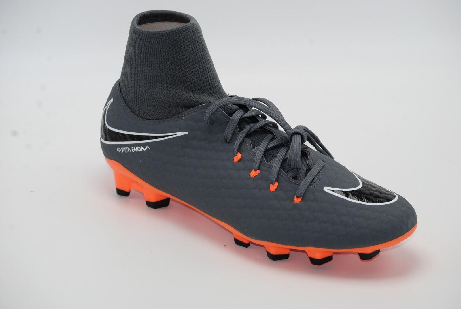 f225ffcb6 Nike Hypervenom Phantom III Academy DF FG Ah7268081 Grey Halfshoes ...