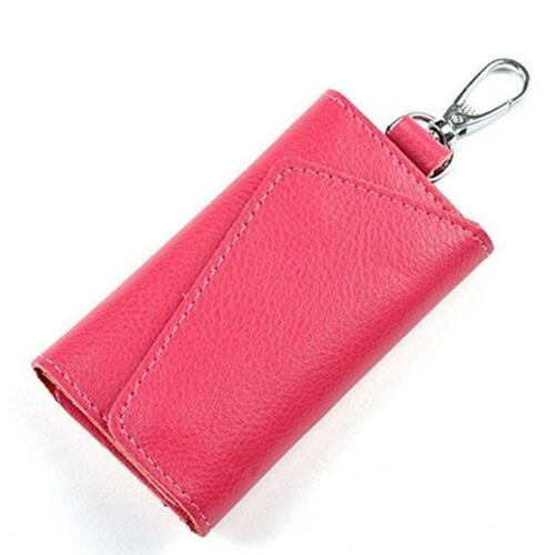 Men Women Lady PU Leather Purse Wallet Coin Key Holder Case Pouch Bag LD