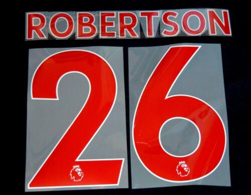 Liverpool Robertson 26 Premier League Football Shirt Name Sporting ID 18//19 red