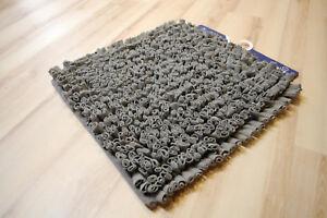 badteppich badematte kleine wolke antigua 901 anthrazit 60x60 cm grau ebay. Black Bedroom Furniture Sets. Home Design Ideas