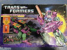 Transformers Vintage G1 Scorponok En Caja Solo Falta 1 Pistola e instrucciones