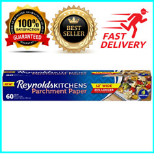 Reynolds Kitchens Non-Stick Parchment Paper 60 Square Feet Exclusive 12 inch