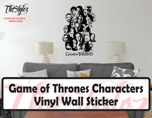 Game-of-Thrones-Characters-Vinyl-Wall-Sticker