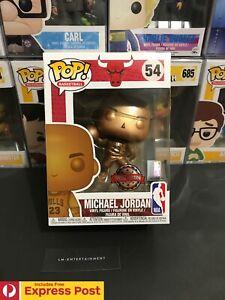 NBA-MICHAEL-JORDAN-BRONZED-FUNKO-POP-BASKETBALL-VINYL-FIGURE-54-NEW-PROTECTOR