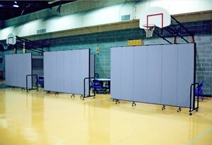 Screenflex 6ft Tall 3 13 Panels Portable Partition Room Divider FREE