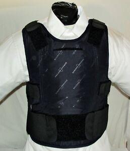 Concealable Body Armor Carrier BulletProof Vest XL IIIA Lo Vis