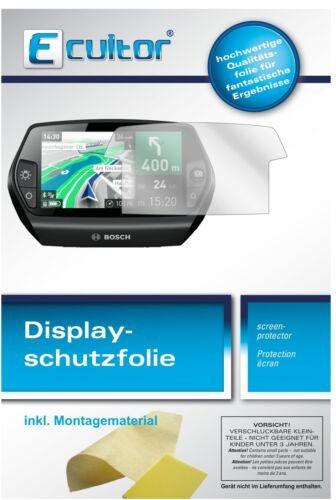 protector pantalla Lámina protector de pantalla e-bike Display 9x lámina protectora para Bosch Nyon