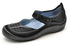 Clarks Privo FIN Black Mary Janes Shoes Slip-Ons Women's 6 - NEW