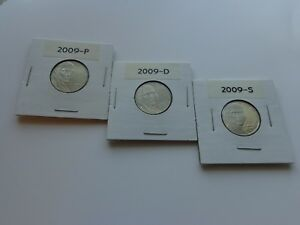 2009 P+D+S Jefferson Nickels 2 BU+ 1 PROOF 2009 PDS *Hand-Selected QUALITY