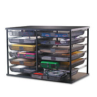 Rubbermaid 12-compartment Organizer With Mesh Drawers 23 4/5 X 15 9/10 X 15 2 on sale
