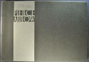 1931 Pierce Arrow Large 36pg Prestige Brochure 23 Models Excellent Original 31