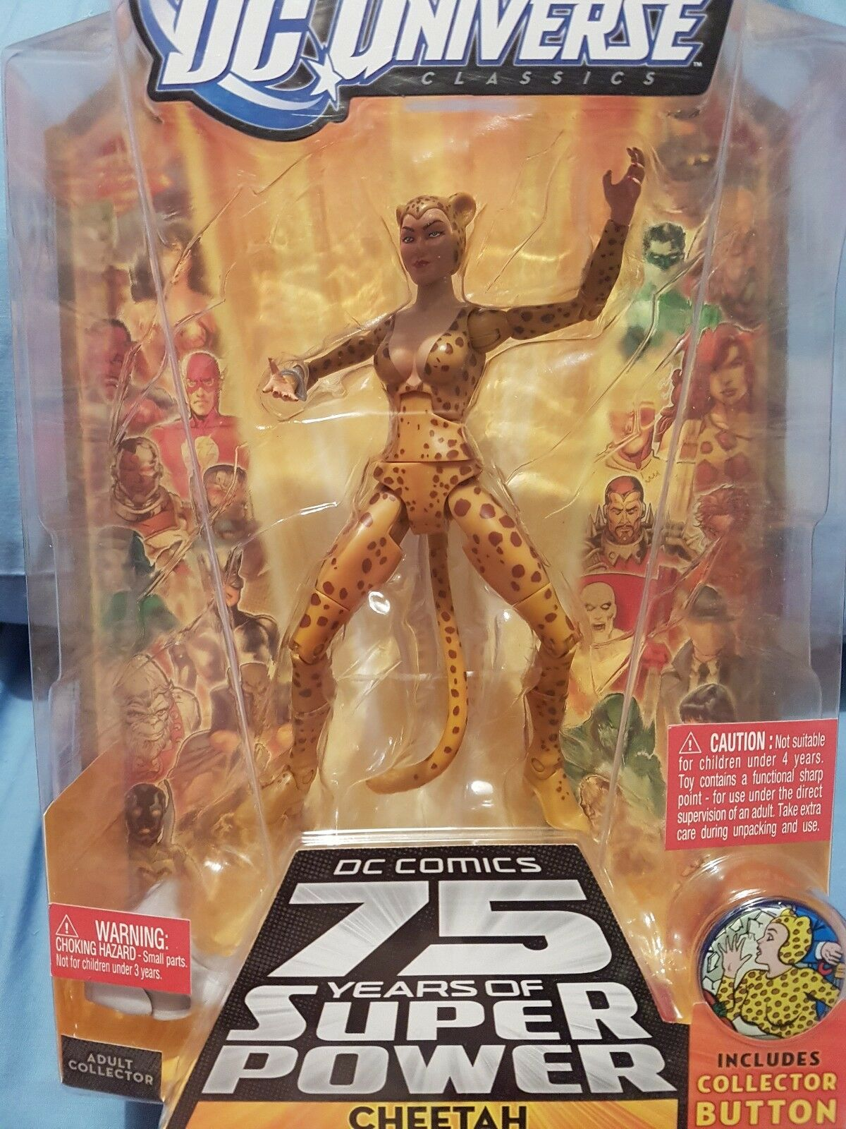 Dc - universum classic 6  action - figur - cheetah - version