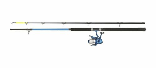 Rolle mit Schnur DAM Fighter Pro Combo Boat 100-300g Kombi Bootsrute 2,40m