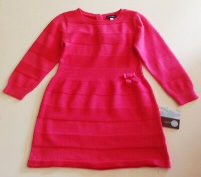Girls Boutique Rabbit Moon 2T Sweater Dress NEW NWT Azalea Pink Le Top