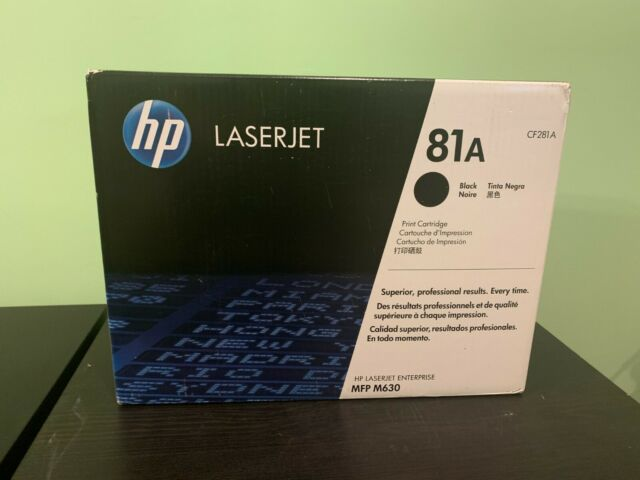 HP 81A (CF281A) Black Toner Cartridge for HP LaserJet Enterprise M630