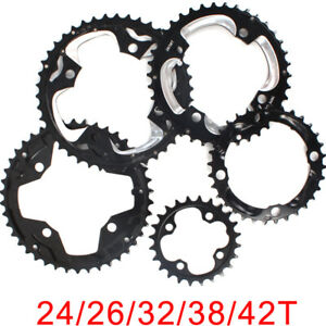 104-64BCDmm-Double-Triple-Speed-24-26-32-38-42T-Chainring-Mountain-Bike-Sprocket