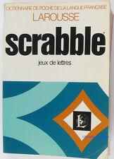 Larousse du scrabble : Dictionnaire des jeux de lettres Michel Pialat 1978