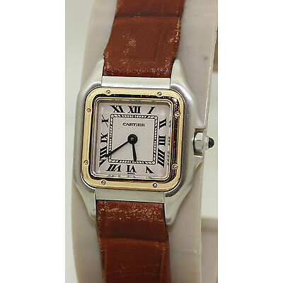 Ladies Stainless Steel & 18K Gold Cartier Panthere - 23mm - Quartz