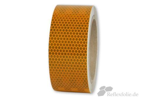 lfm x 50mm 3M™ Reflexband 823i RA2 Reflexfolie gelb reflektierend selbstklebend