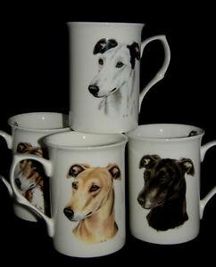 BN-Greyhound-Bone-China-Mug-Four-Greyhounds-Available-Greyhound-Gift-Dog-Mug