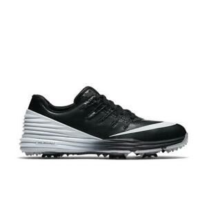 free shipping b9a31 26a32 Image is loading Womens-NIKE-Lunar-Control-4-Black-Waterproof-Golf-