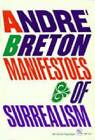 Manifestoes of Surrealism by Andre Breton (Paperback, 1969)