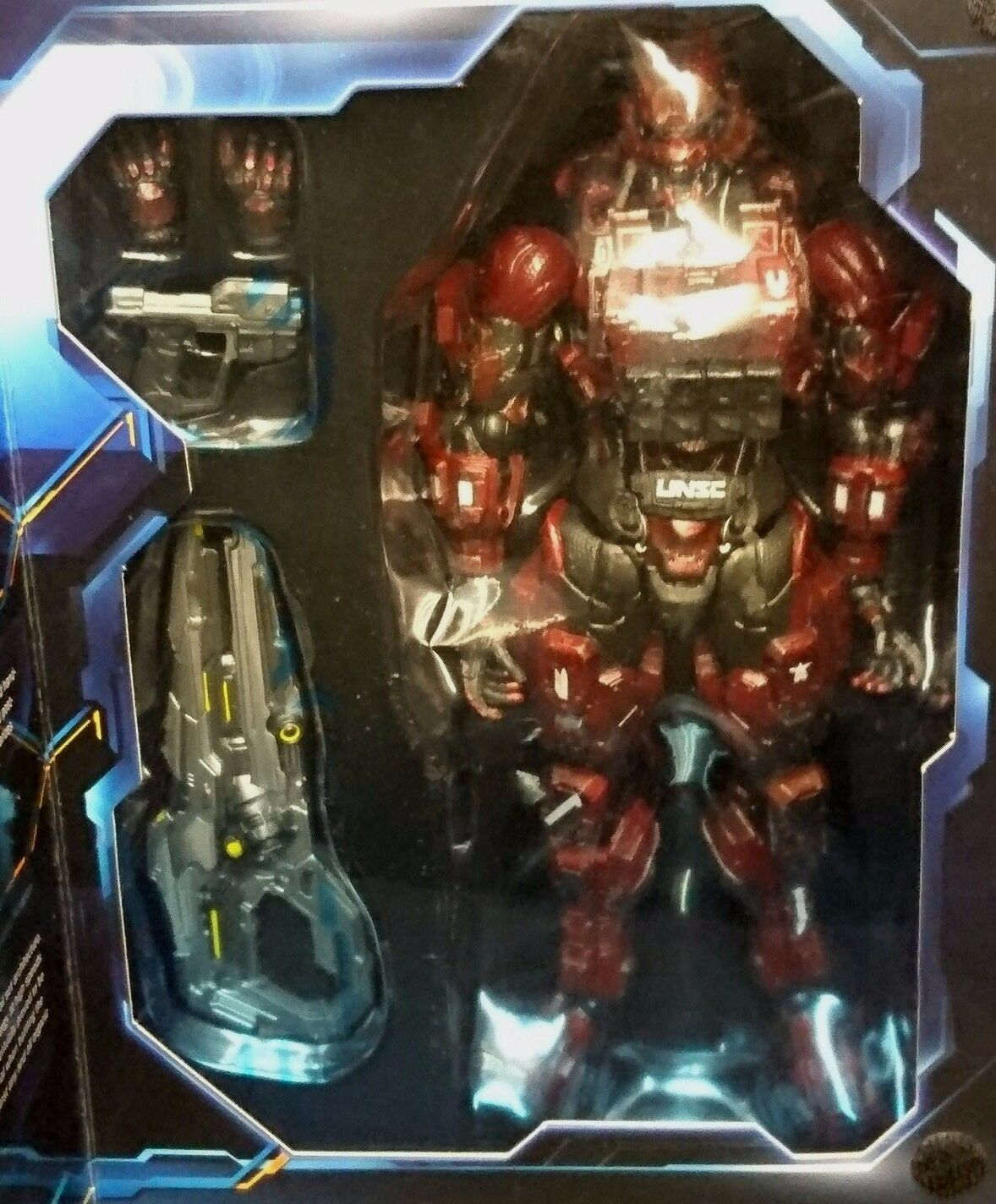 Play Arts Kai HALO 4 4 4 SPARTAN SOLDIER (rot) 9  23cm Action Figure New  Rare  Xbox 638c63