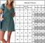 Damen-Sommer-Kurzarm-Strandkleid-Minikleid-Unifarben-Freizeitkleid-Hemdkleid-Top Indexbild 2