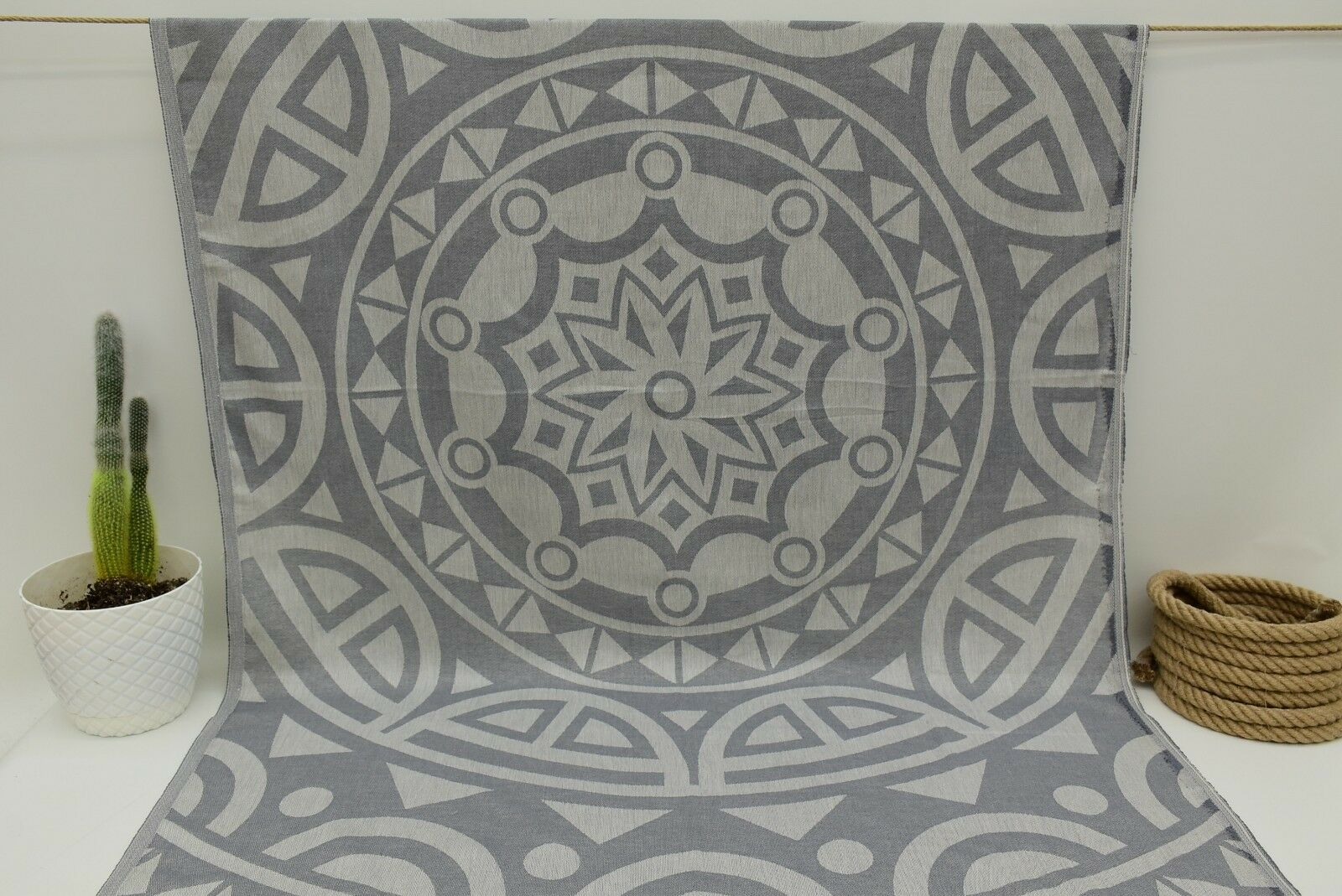 SPECIAL TOWEL Art Towel Peshtemal Towel Organic Cotton Towel Geometric Brc-Mtm1