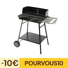 Barbecue charbon paravent Azur grille 53 cm Neka