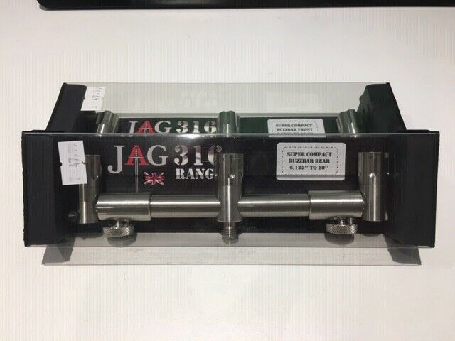 Jag Super Compact Adjustable Buzzbar Front and Back - 3 rods