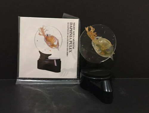 RARE Takara Kaiyodo Night Aqua Museum Common Water Flea PVC Figure Figurine