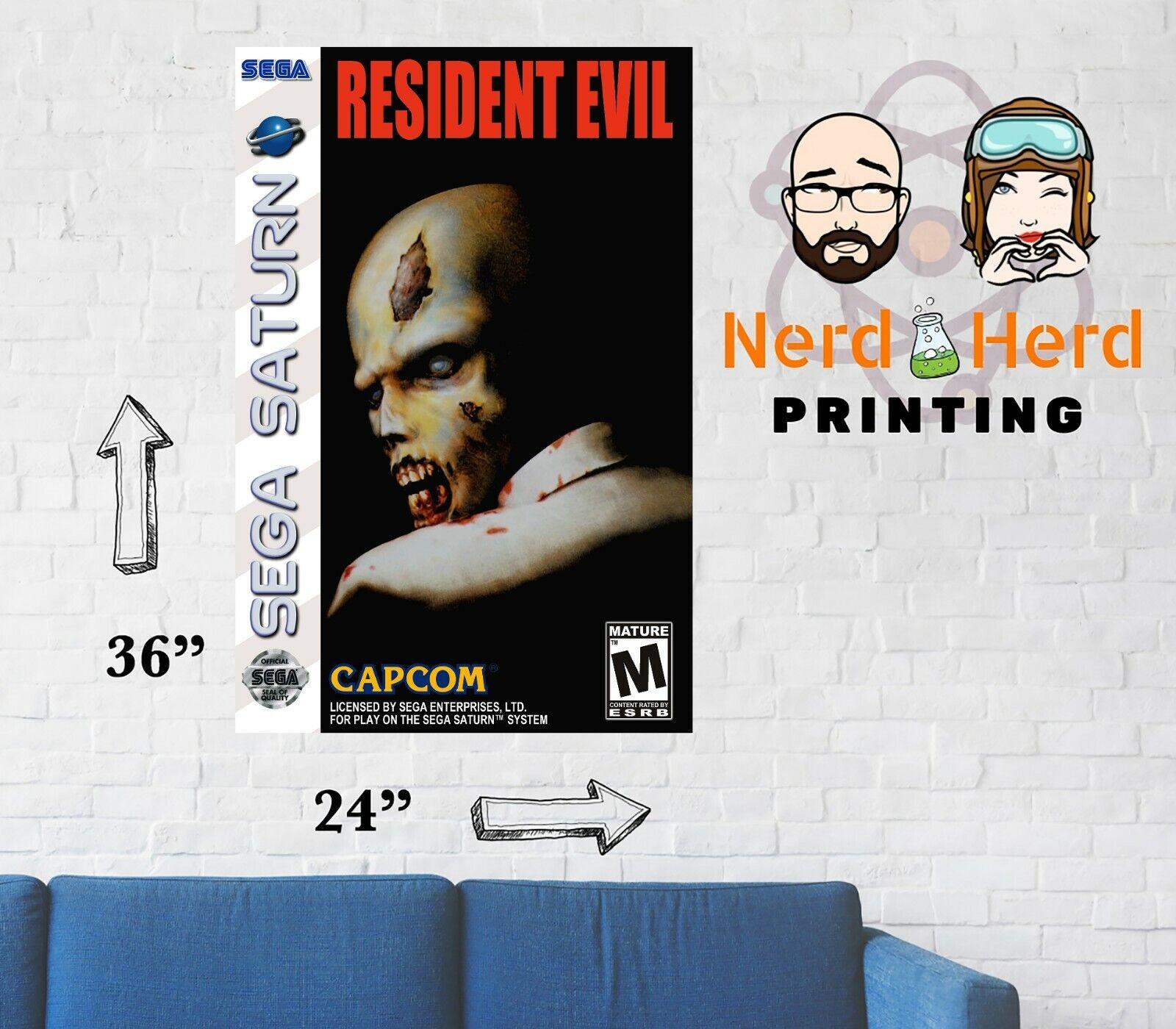 Nemesis Remake Game Poster Art Resident Evil 3 11x17 13x19