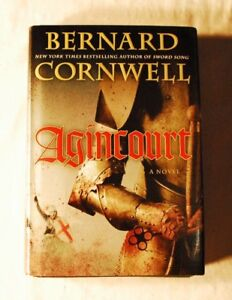 AGINCOURT-by-Bernard-Cornwell-HC-Excellent-Historical-novel-FREE-SHIPPING