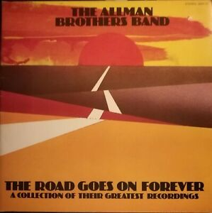 Allman-Brothers-Band-The-road-goes-on-forever-1975-Capricorn-VINILE-2lps-VG