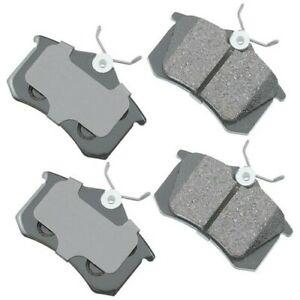 Disc Brake Pad Set-Euro Ultra Premium Ceramic Pads Rear Akebono EUR1630