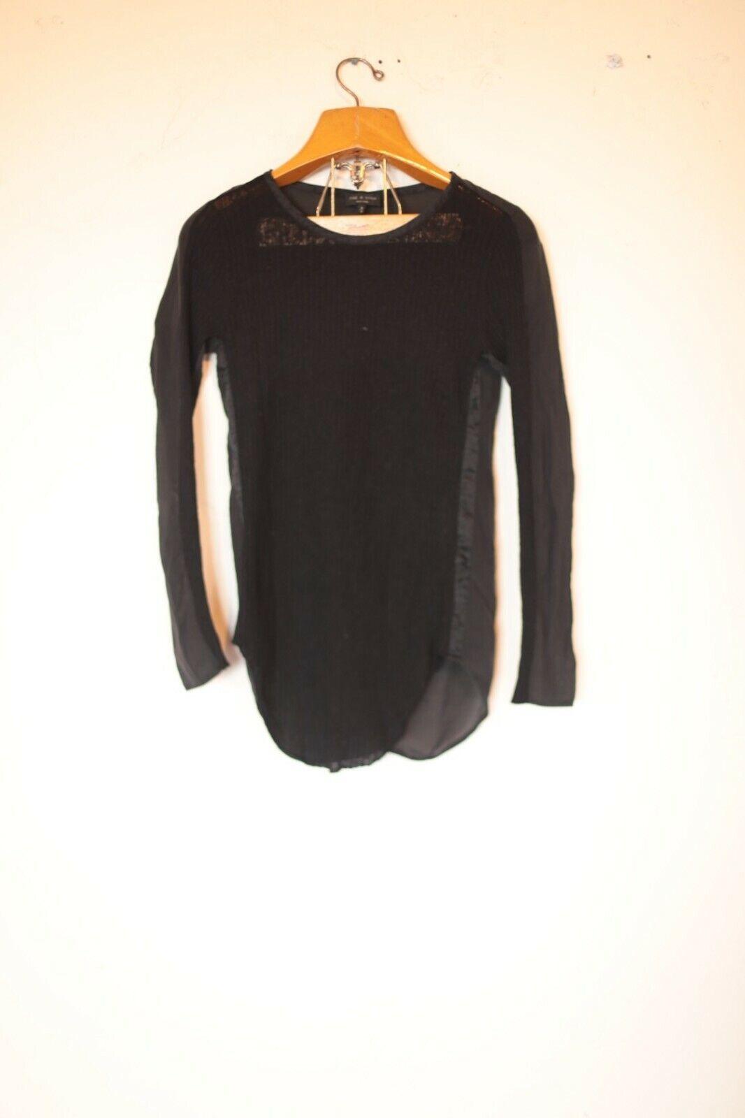 Rag & Bone Women's Silk and Alpaca/Wool/blend bla… - image 1