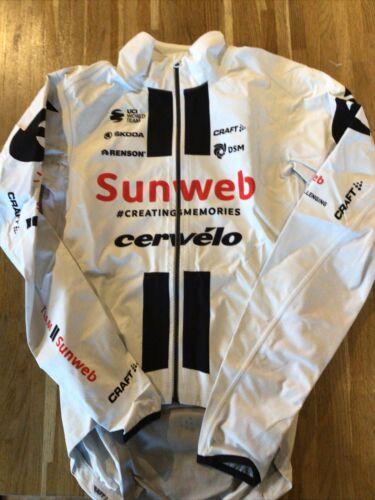 Team Sunweb Craft Trainee Rain Jacket Various Sizes