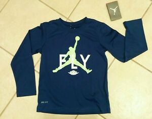 Boy/'s Nike Air Jordan 23 Jumpman Basketball Jersey Black//Red Large 12-13 Yrs NWT