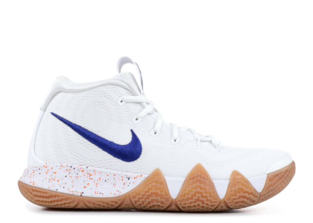a314fe41305 Nike Kyrie 4 Uncle Drew Mens 943806-100 White Royal Basketball Shoes ...