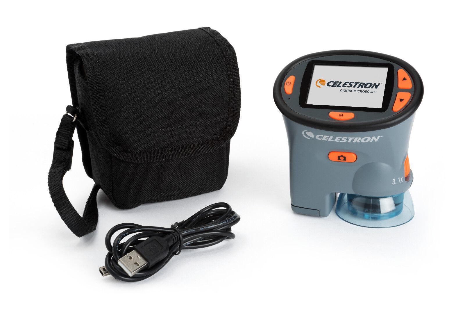 Celestron Digitales LCD Handmikroskop 3MP Kamera mobiles Mikroskop  2,4 -Monitor