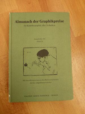 Almanach Der Graphikpreise - Ausgabe Für 1991 Band 5 / Cornelia Bassenge